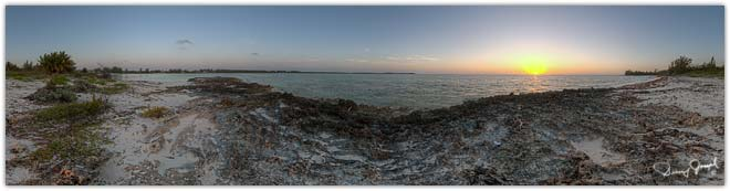 Eleuthera Bahamas Virtual Reality Photo - Winding Bay Beach Southeast