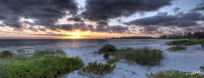 Winding Bay Eleuthera at Sunrise